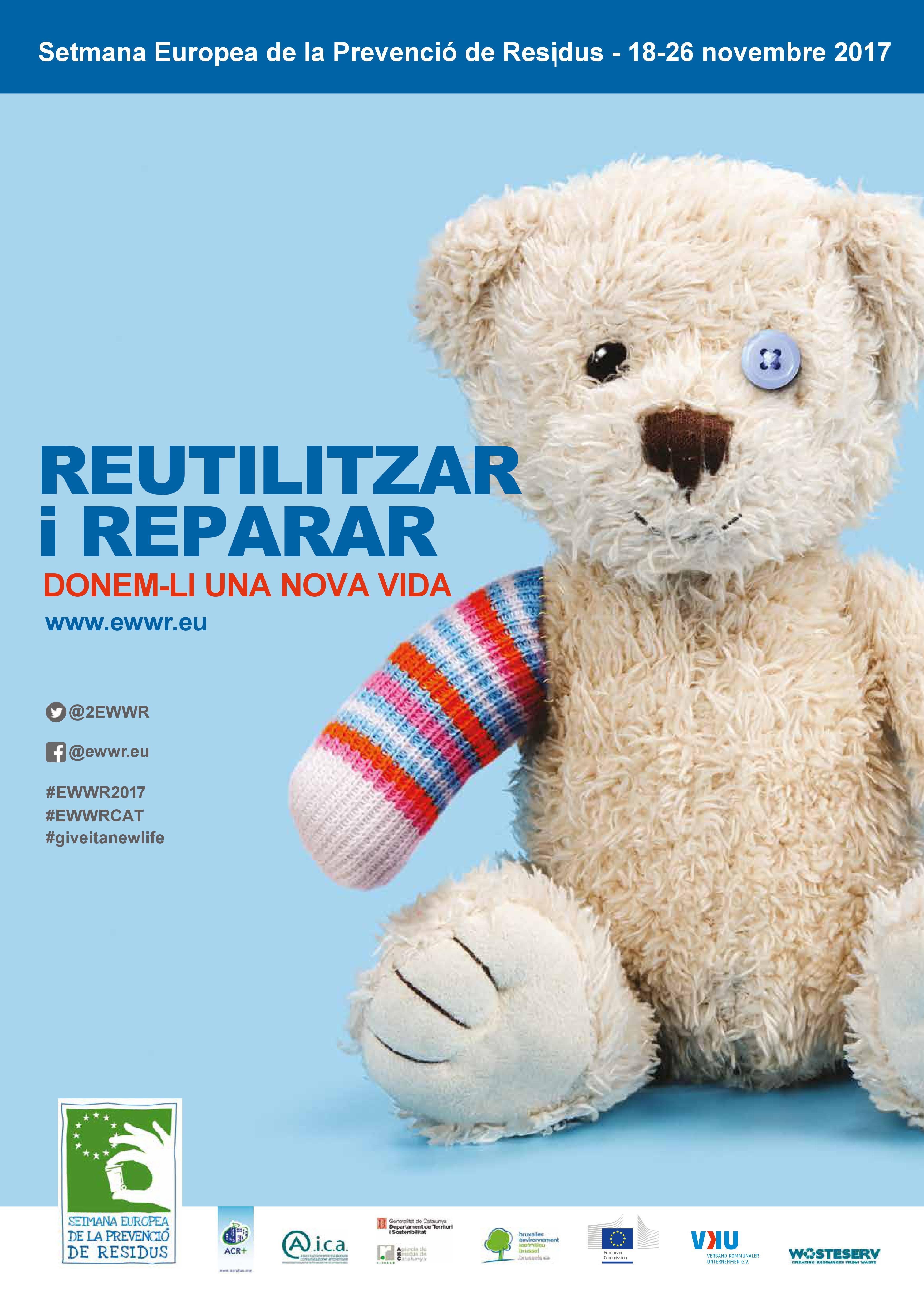 Setmana Europea de Prevenció de Residus 2017